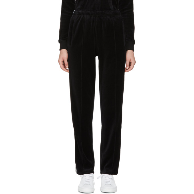 Opening Ceremony Black Limited Edition Velour Track Pants