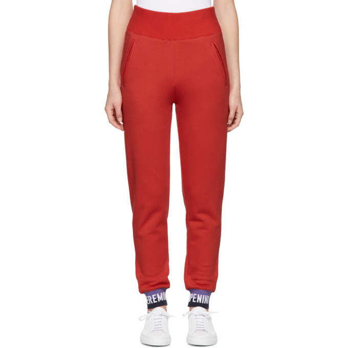 Opening Ceremony Red Elastic Logo Lounge Pants