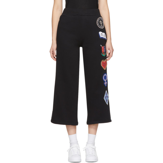 Opening Ceremony Black Sorority Patch Lounge Pants