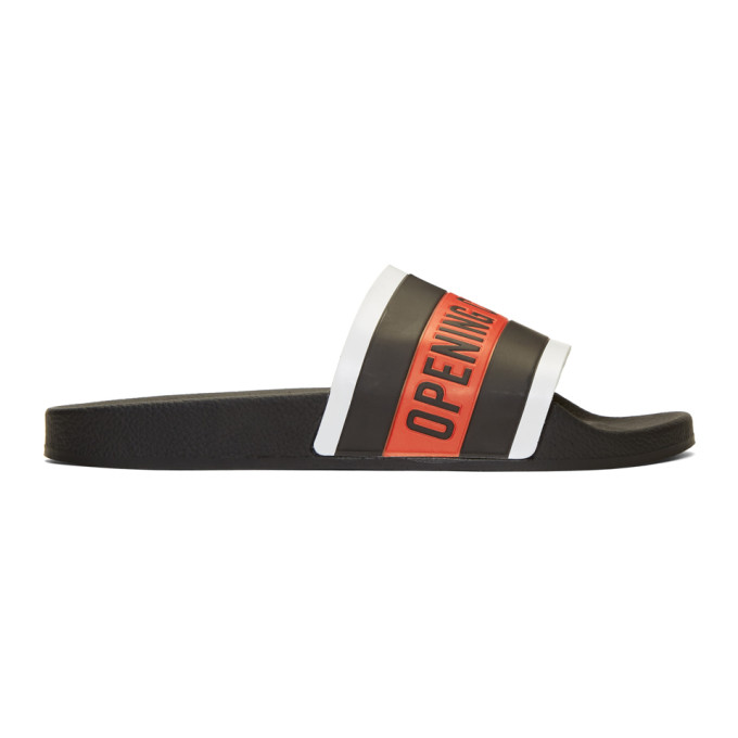 Opening Ceremony Black Logo Slides