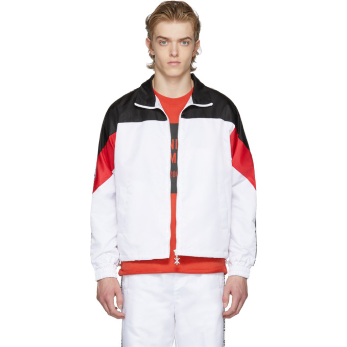 Opening Ceremony White & Black Limited Edition Warm Up Jacket