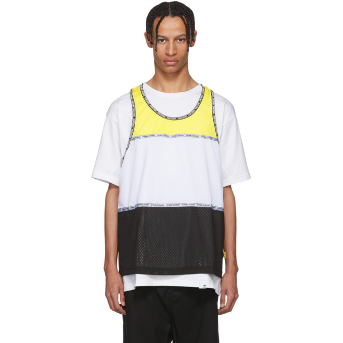 Opening Ceremony Multicolor Limited Edition Colorblock Tank Top