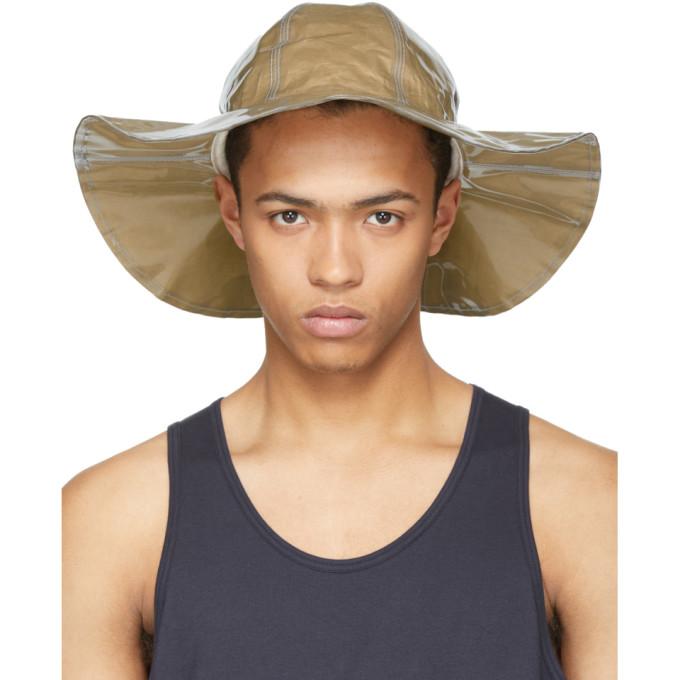 Image of Comme des Garçons Shirt Beige Paper Hat