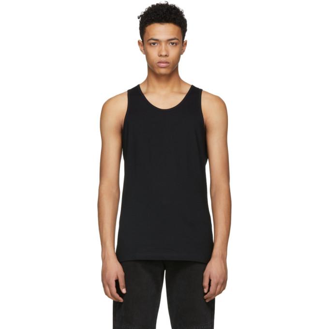 Image of Comme des Garçons Shirt Black Basic Tank Top