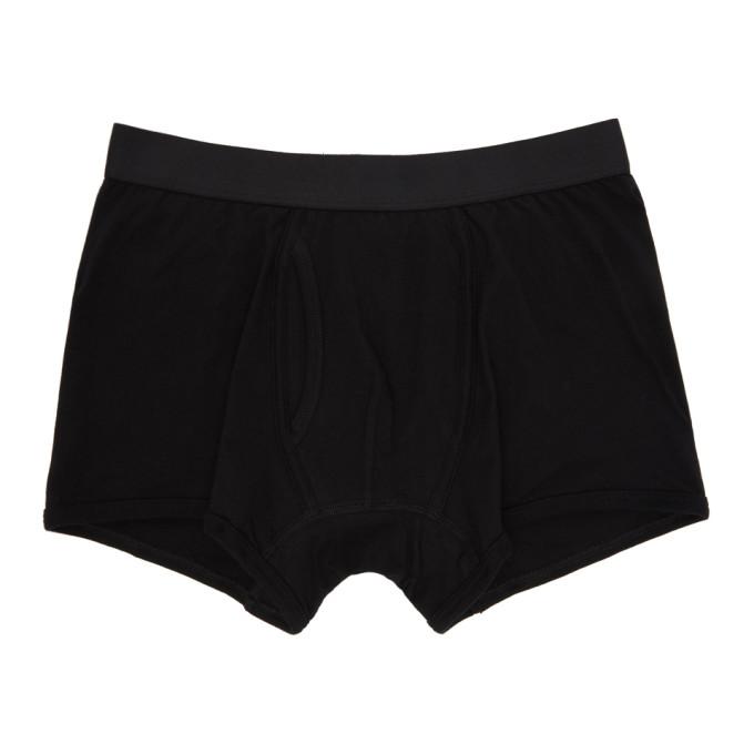 Image of Comme des Garçons Shirt Black Plain Boxer Shorts
