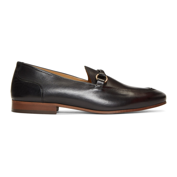 Image of H by Hudson Black Renzo Loafers