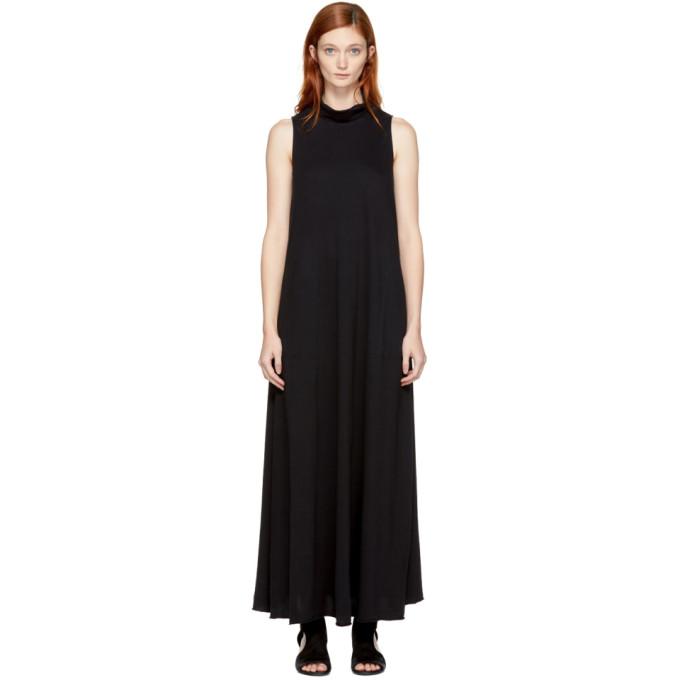 Image of Raquel Allegra Black Long Turtleneck Dress