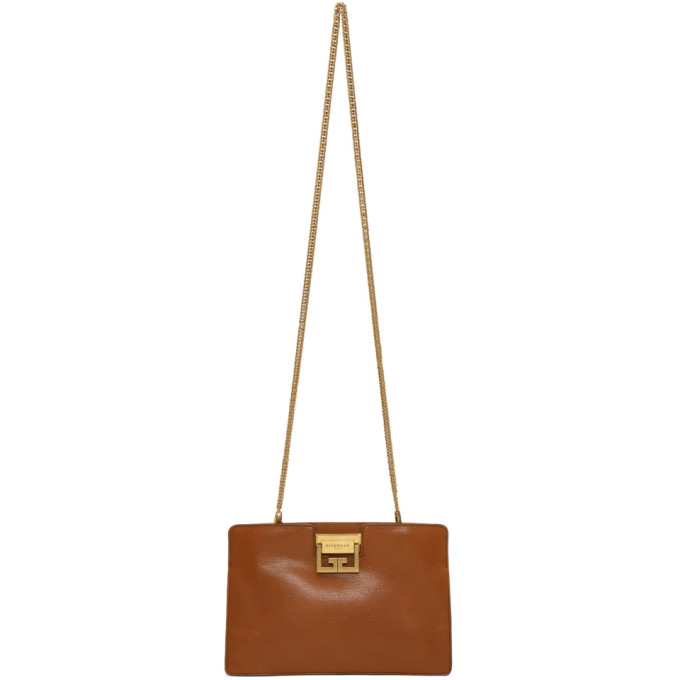 Givenchy Tan GV3 Clutch