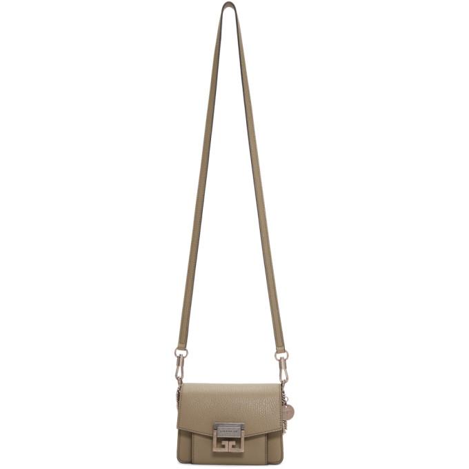 Givenchy Taupe Mini GV3 Bag
