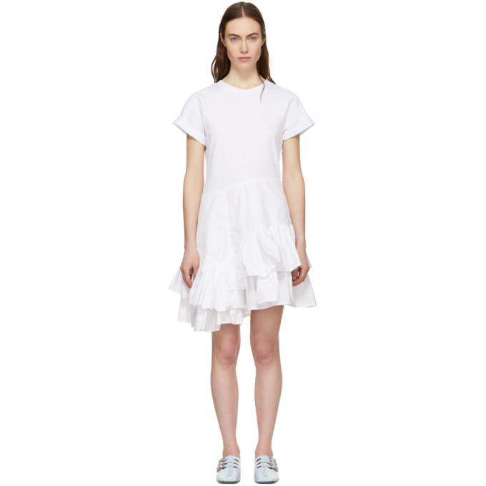 31 Phillip Lim White Flamenco T Shirt Dress