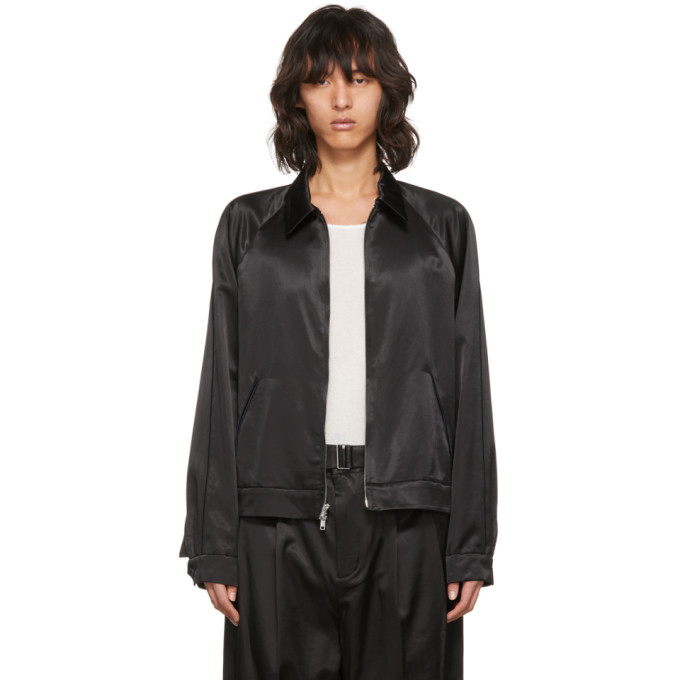 31 Phillip Lim Black Have a Nice Day Jacket