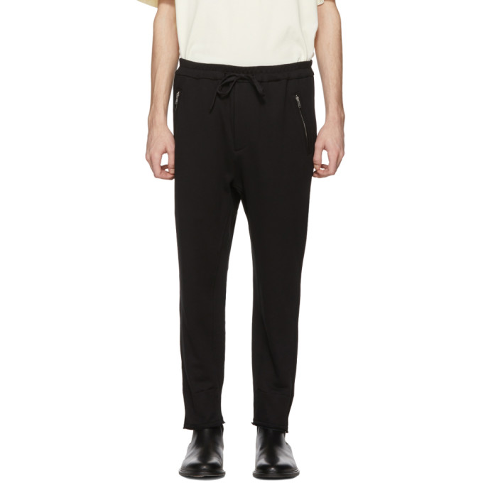 Image of 3.1 Phillip Lim Black Cropped Lounge Pants