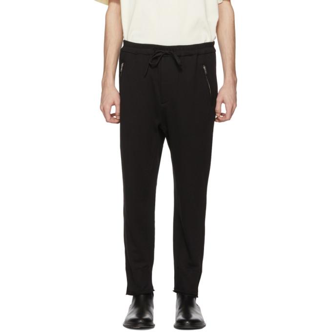 31 Phillip Lim Black Cropped Lounge Pants