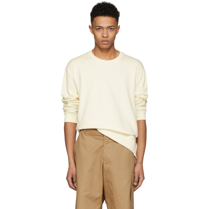 31 Phillip Lim Ecru Re Constructed Sweatshirt