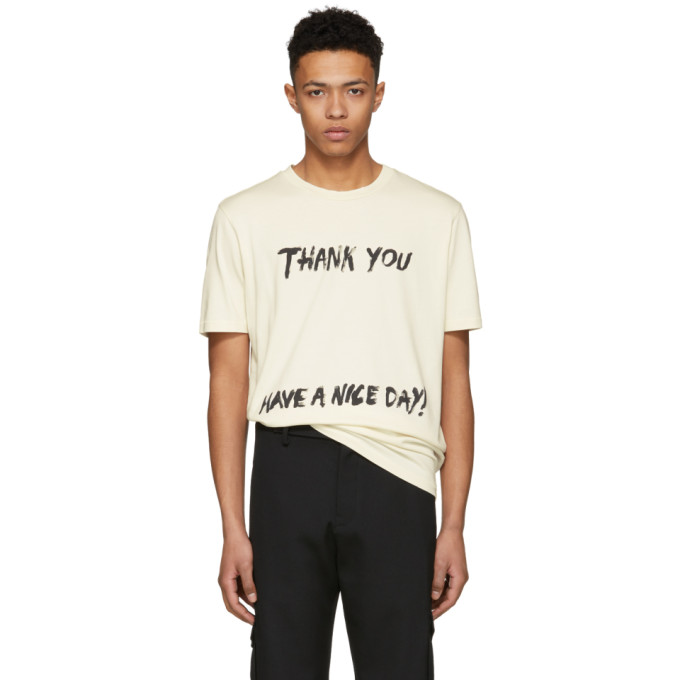 31 Phillip Lim Off White Thank You Have A Nice Day Perfect T Shirt