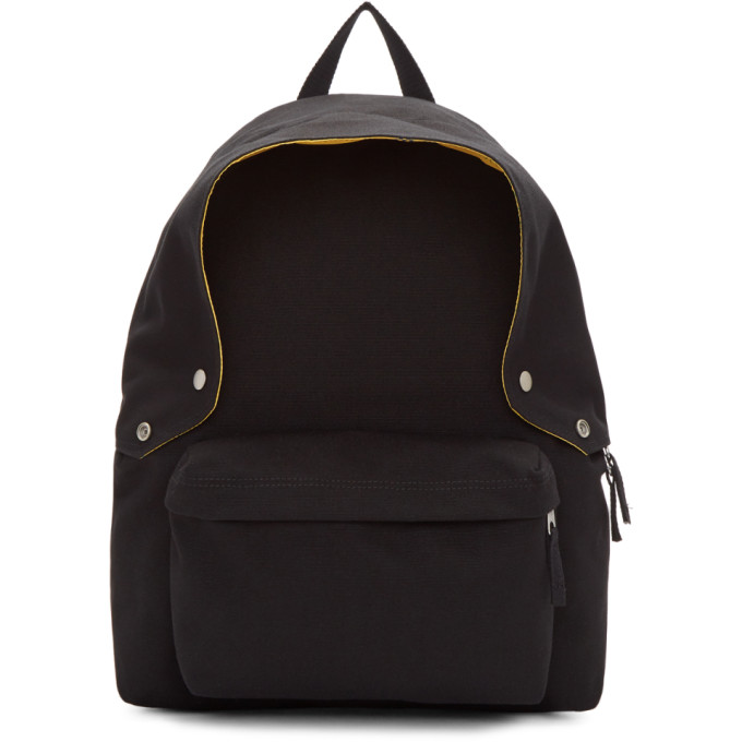 Raf Simons Black Eastpak Edition Padded Backpack