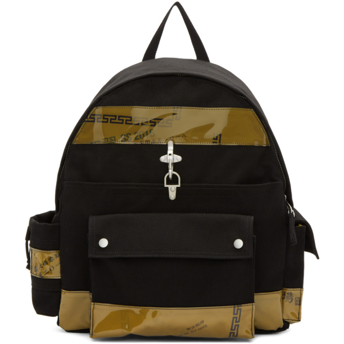 Raf Simons Black Eastpak Edition Functional Backpack