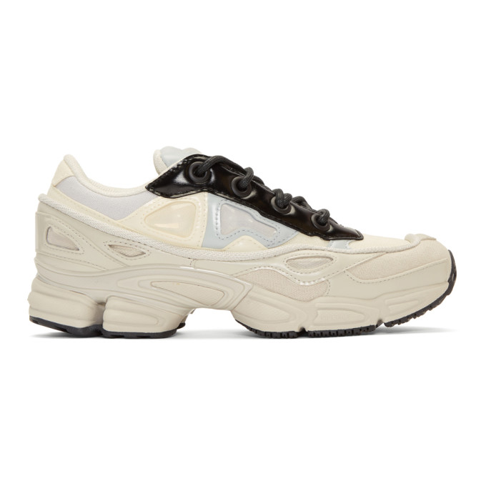 Raf Simons ホワイト & グレー adidas Originals Edition Ozweego III スニーカー