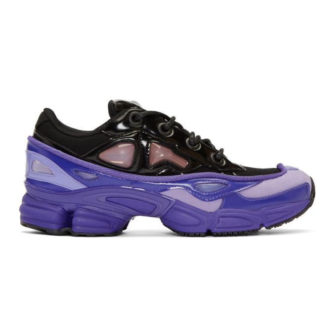 Raf Simons Purple & Black adidas Originals Edition Ozweego III Sneakers