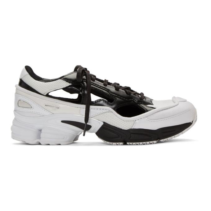 Raf Simons ブラック & ホワイト adidas Originals Edition Replicant Ozweego スニーカー アニバーサリー パック