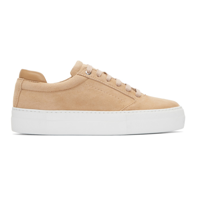 Image of Want Les Essentiels Pink Suede Lalibela Sneakers