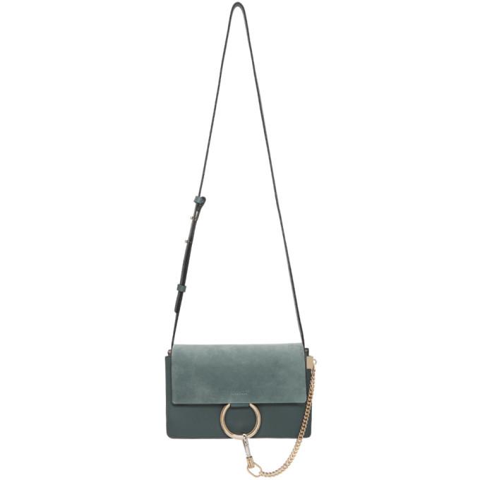 Chloe Blue Small Faye Bag