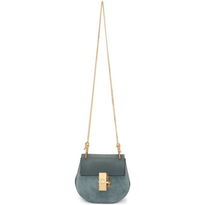 Chloe Blue Small Drew Bag