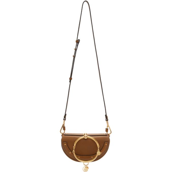 Chloe Brown Nile Minaudiere Bag