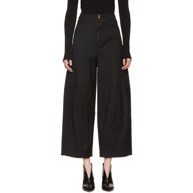 Chloe Black Cargo Trousers
