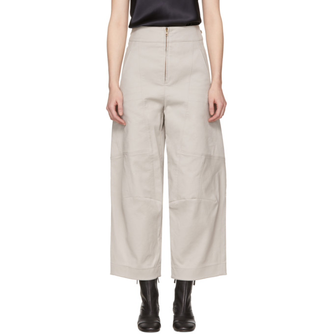 Chloe Grey Cargo Trousers