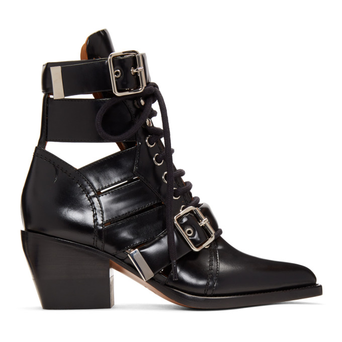 Chloe Black Medium Rylee Boots