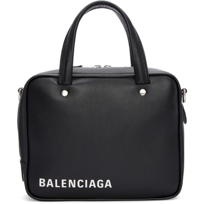 Balenciaga Black Extra Small Square Bag