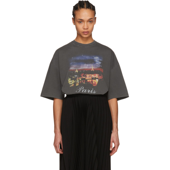 Balenciaga Black Paris T-Shirt