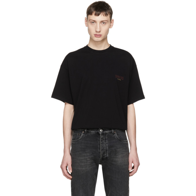 BALENCIAGA | Balenciaga Black Oversized Sinners T-Shirt | Goxip