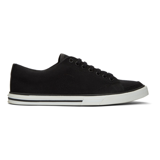 Balenciaga Black Match Low Sneakers