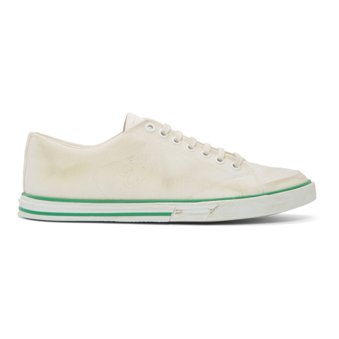 Balenciaga White Match Low Sneakers