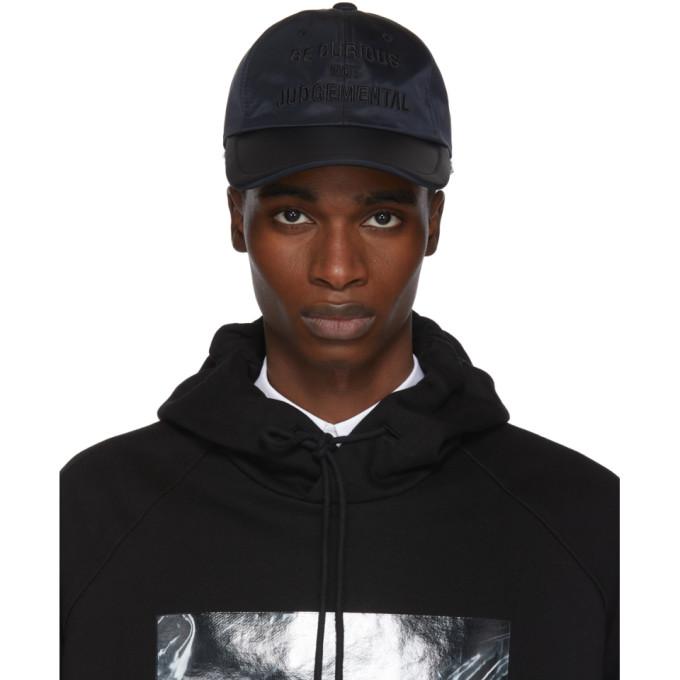 Image of Juun.J Black 'Be Curious Not Judgemental' Cap