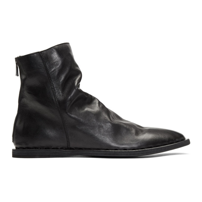 Image of Officine Creative Black Felix 5 Boots