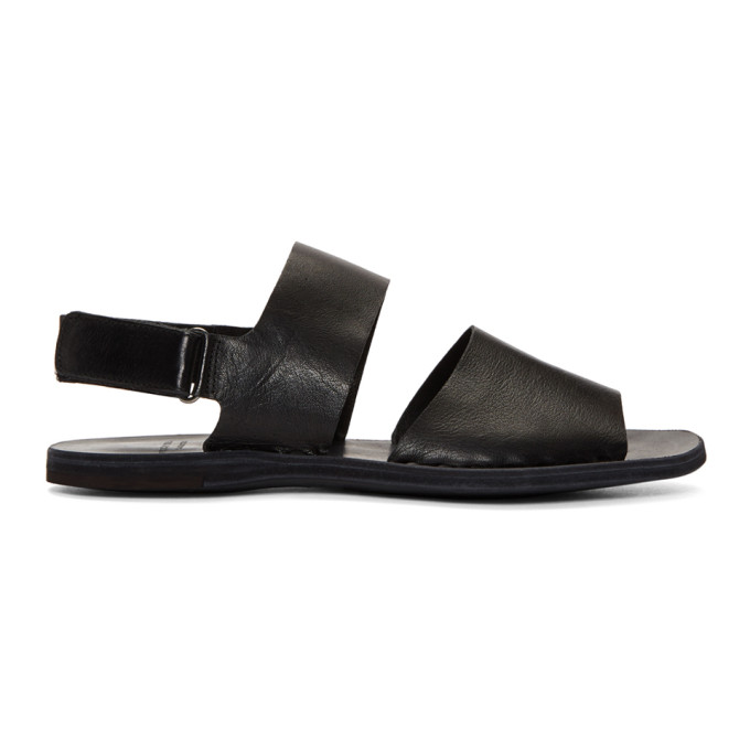 Image of Officine Creative Black Fira 6 Sandals
