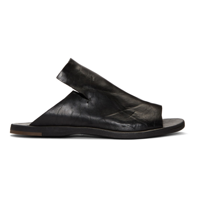 Officine Creative Black Kimolos 1 Sandals