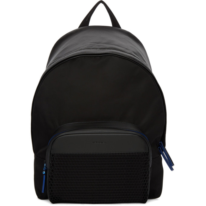 Neil Barrett Black Classic Mesh Backpack