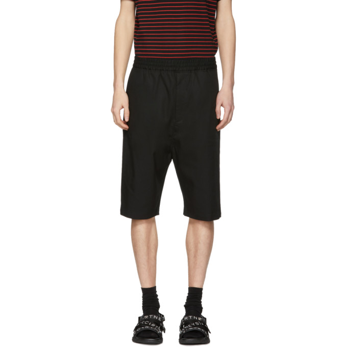 Neil Barrett Black Drop Shorts