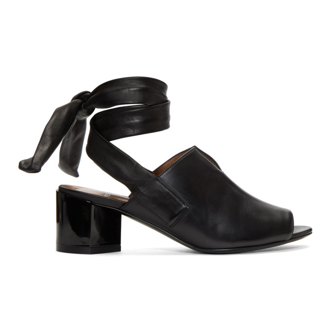 Image of Pierre Hardy Black Rally Sandals