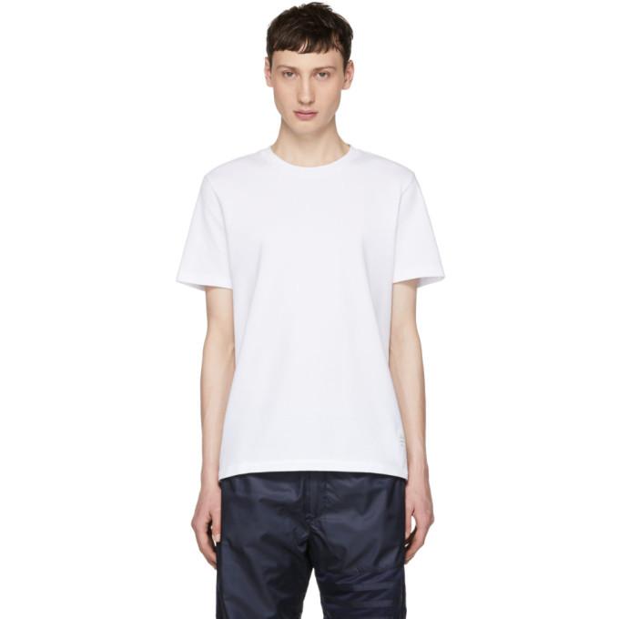 Thom Browne ホワイト リラックス フィット T シャツ