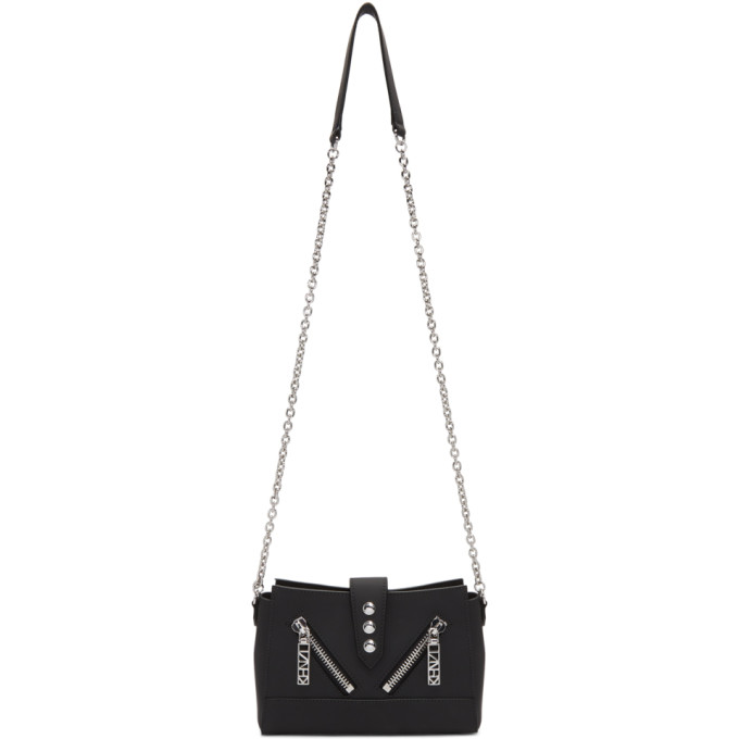 Kenzo Black Mini Kalifornia Chain Bag