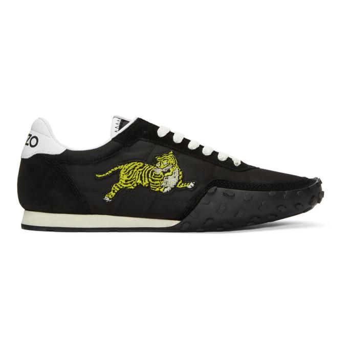 Kenzo Black 'Kenzo Move' Sneakers