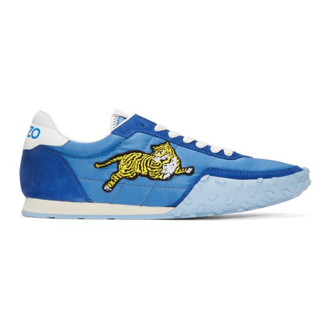 Kenzo Blue 'Kenzo Move' Sneakers