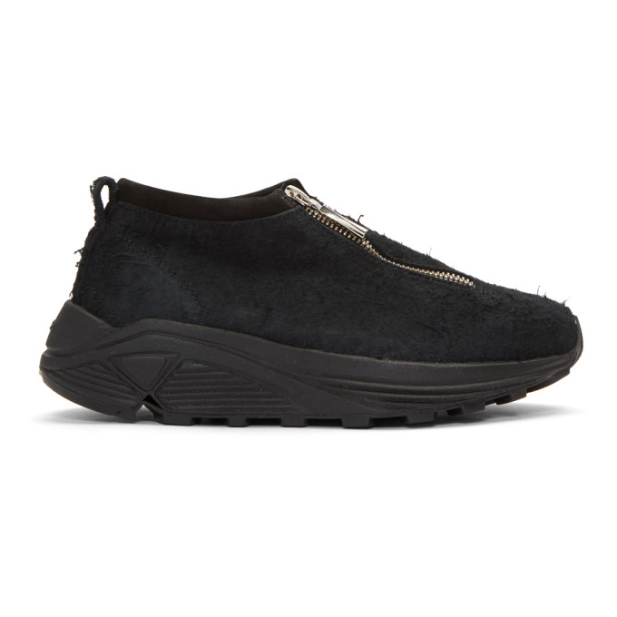 Image of Diemme Black Suede Fontesi Low Sneakers