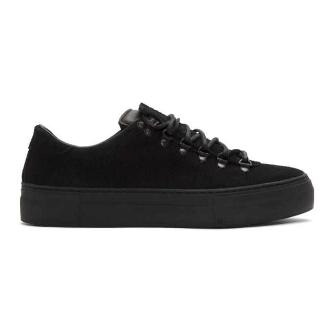 Image of Diemme Black Suede Marostica Low Sneakers