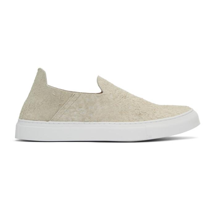 Image of Diemme Beige Suede One Slip-On Sneakers